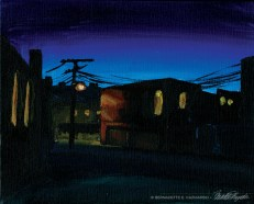 The Alley in Dusk