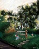 How Many Sunsets, pastel, Pastel, 10 x 12, 2003 © Bernadette E. Kazmarski