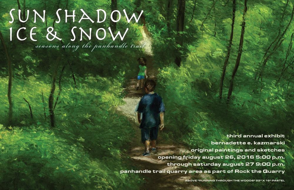 2016: Sun Shadow Ice & Snow, Seasons on the Panhandle Trail