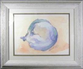 World Cat, framed.