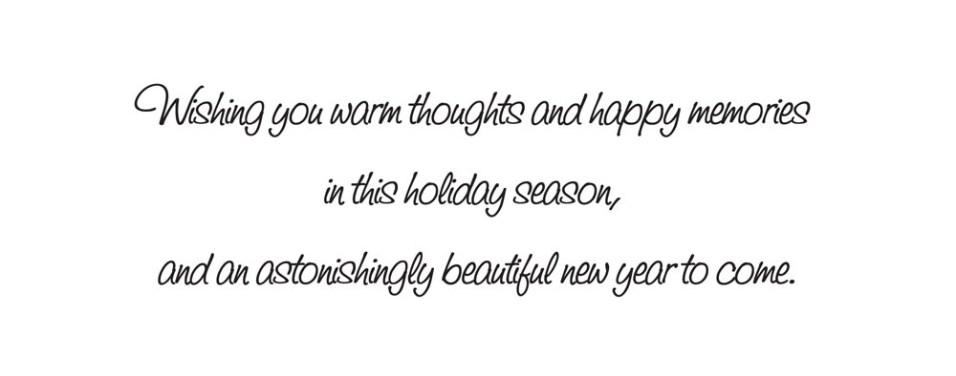 Message inside card.