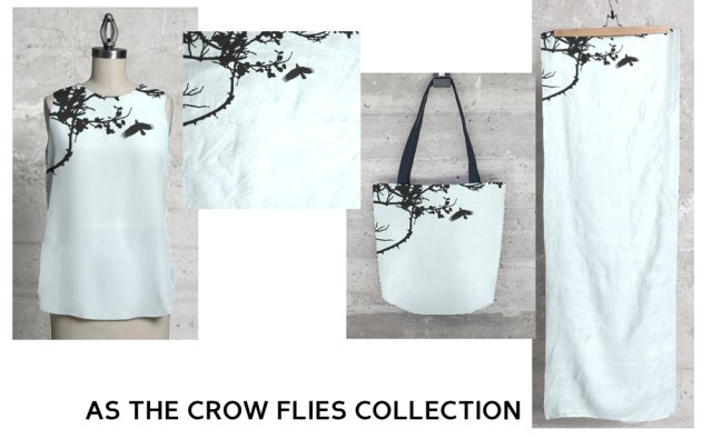 """""""As the Crow Flies"""" collection."""
