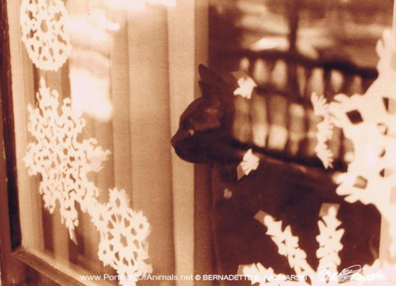 An Old Memory, holiday card