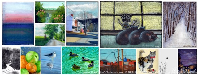 January 2017 30 Paintings in 30 Days Gallery