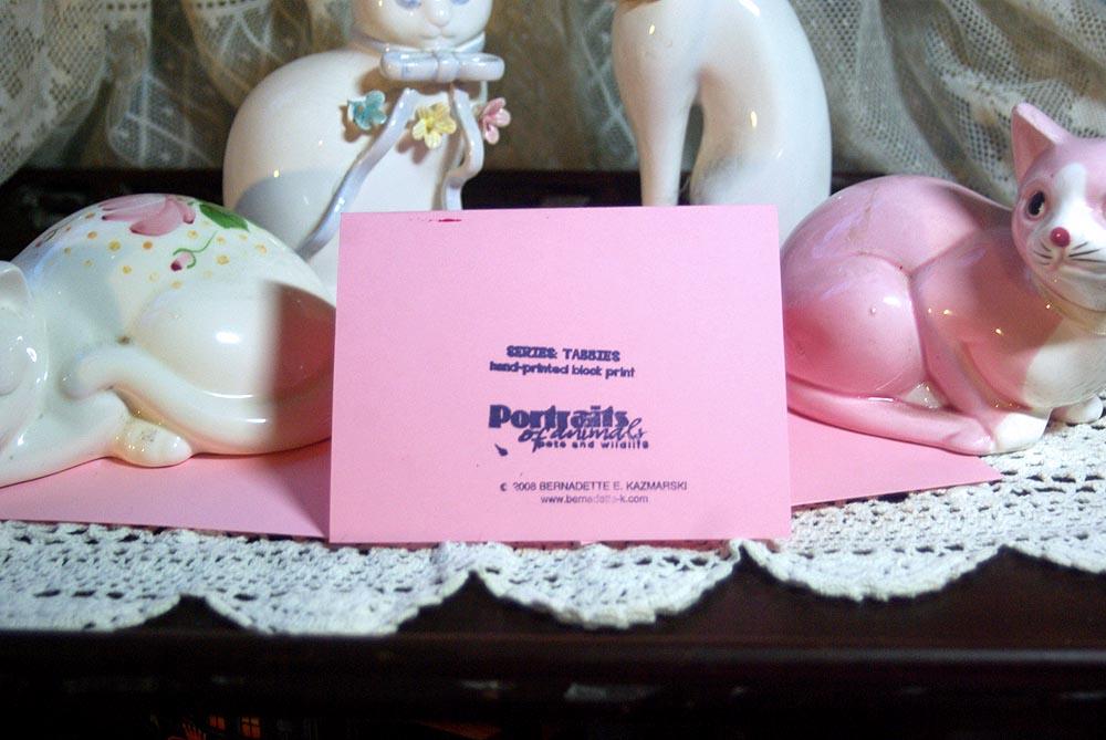 Pink cards, back.