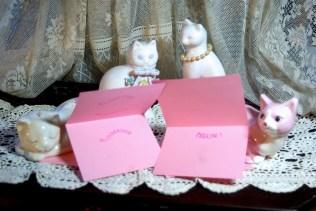 Pink cards, inside.