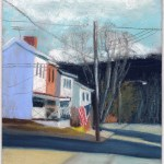 Dead End, pastel on prepared board, 8 x 12 © Bernadette E. Kazmarski