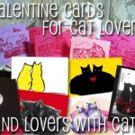 All sorts of feline-inspired valentines!