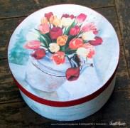 Tea for Tulips keepsake top