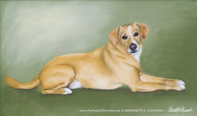 Buckwheat, pastel, 12 x 18, 2002 © Bernadette E. Kazmarski
