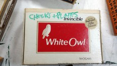 The updated art for the White Owl cigar box.