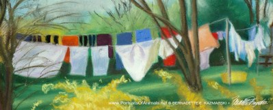 Detail of laundry.