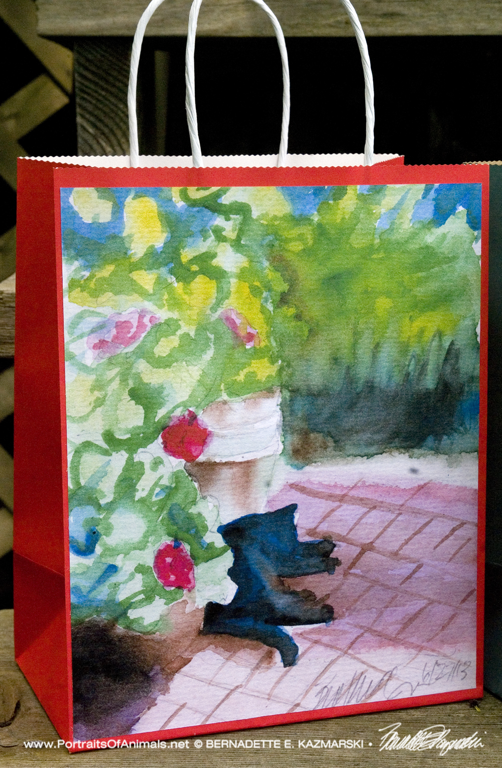 Garden Sketch With Mimi Gift Bag