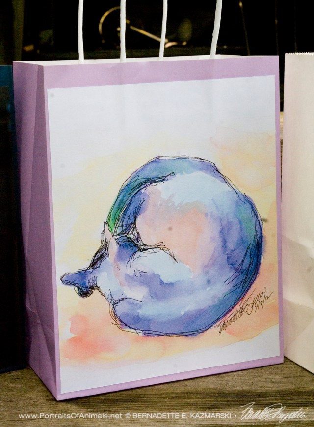 World Cat gift bag