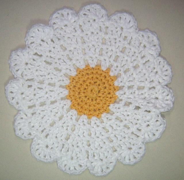 The Daisy Washcloth
