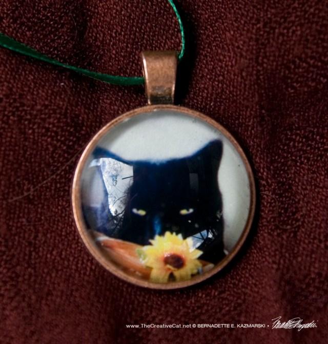 Flower Child Cabochon Pendant