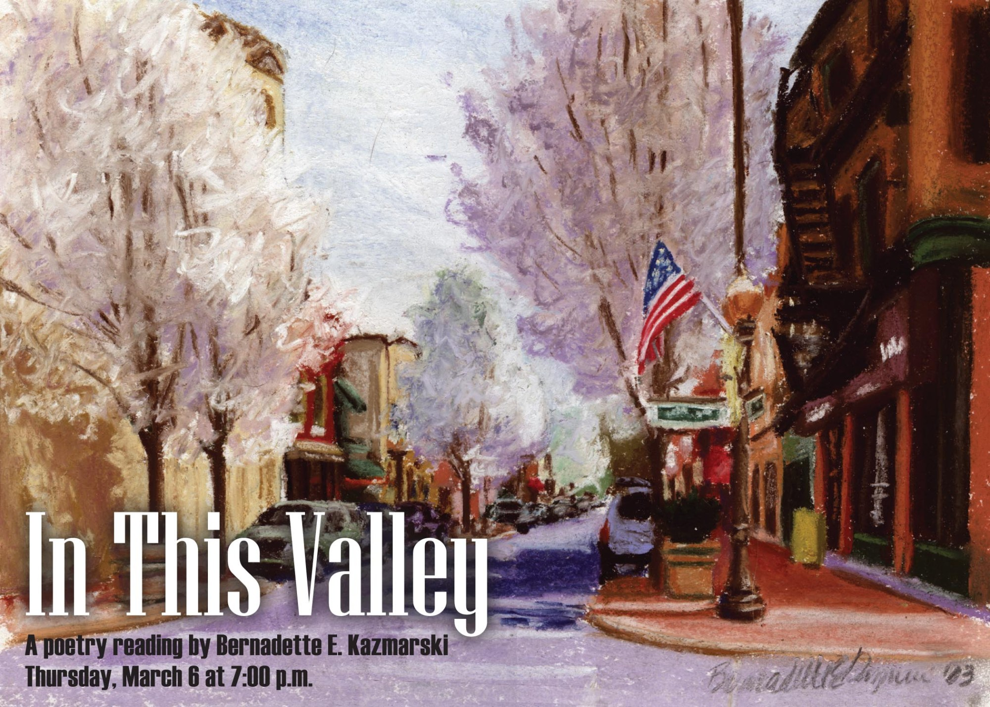 2014: In This Valley Poetry Reading and Art Exhibit