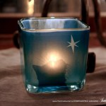 Star of Wonder feline votive.