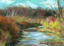November Colors, 5 x 7, pastel, 2000 © Bernadette E. Kazmarski