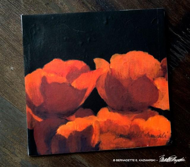 Poppies tile