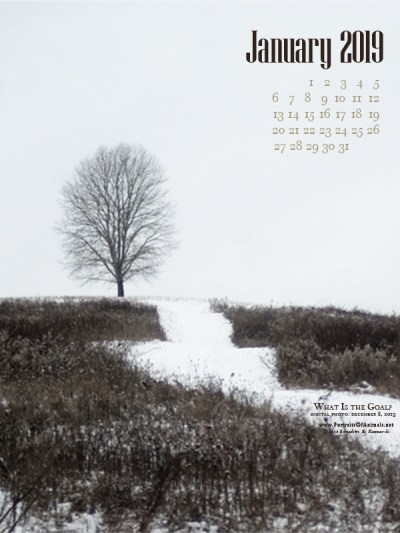 Desktop calendar, 600 x 800 for large mobile devices and tablets
