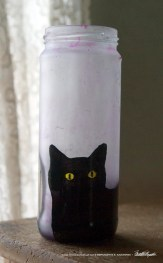 Bella! in Pink Feline Votive