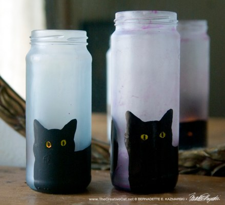 Bella! Votives in pink and blue