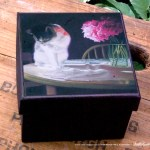 Peaches and Peonies Keepsake Box