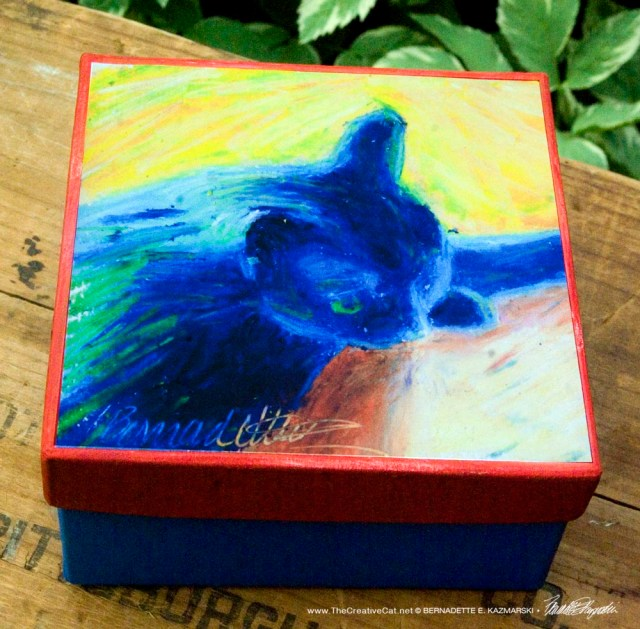 In Window Light Keepsake Box
