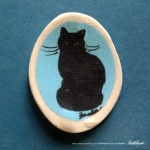 "Pretty Mr. Sunshine 1"" Oval Magnet"