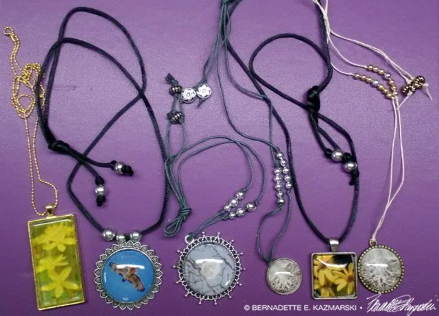 The new cabochon designs and decorations.