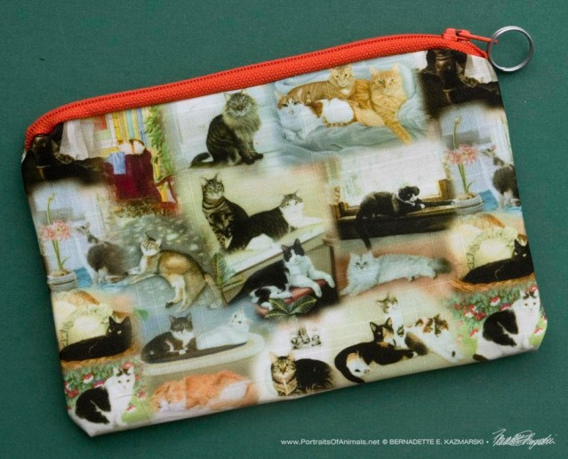 22 Cats small accessory bag.