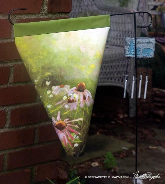 flower garden flag