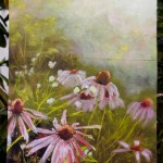 Garden Flag, Evening Wildflowers