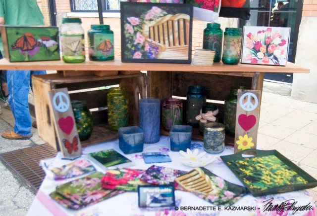 Display of nature gifts.