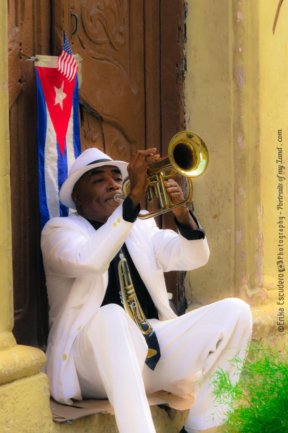 Trompetista Cubano / Cuban Trumpeter
