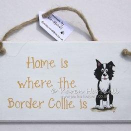 Border Collie plaque