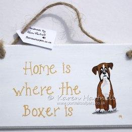 Boxer plaque