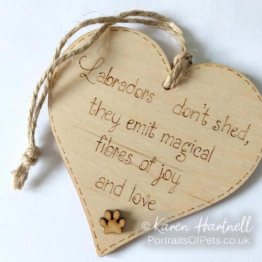 Wooden Heart Plaques