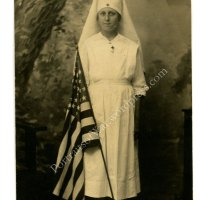 WWI Nurse Photo Postcard Collection  - American Red Cross Nurses in 1918