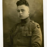 WWI Photo: Research Uncovers 33rd Division Veteran's Identification! 130th Infantry Regiment   Wounded!