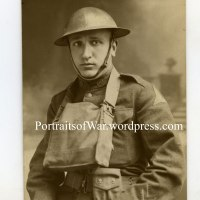 WWI Portrait Photo - Italian Born US Soldier 1st Mobile Veterinary Hospital Farrier