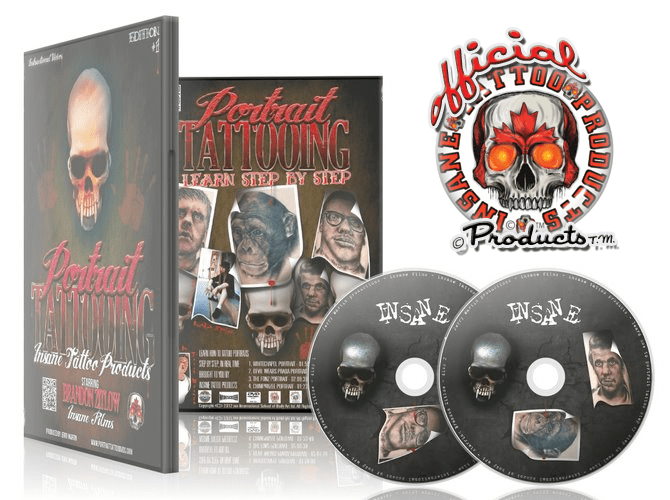 Learn How To Tattoo Portraits Step by Step - DVD Videos