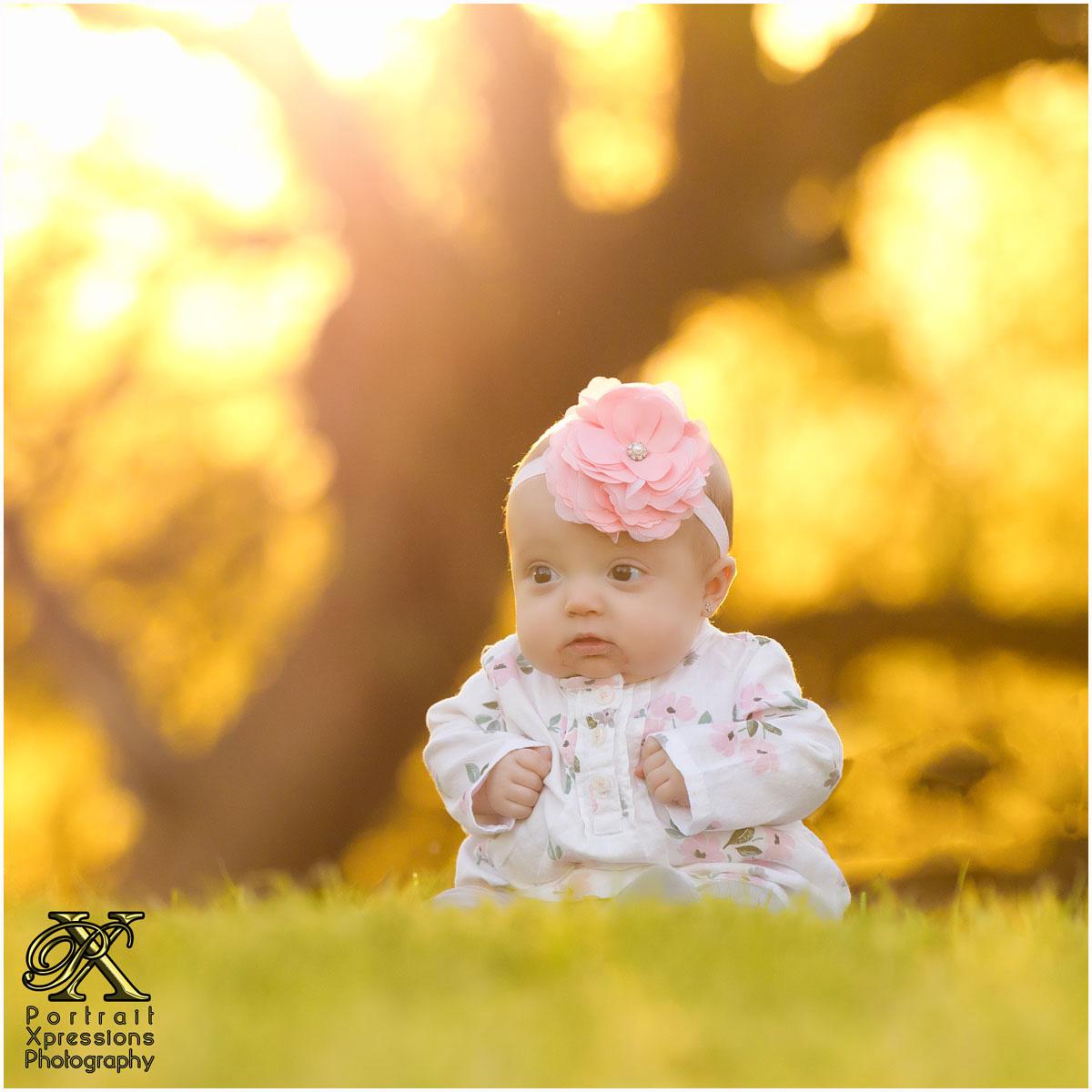 Olivia Rose baby session El Paso