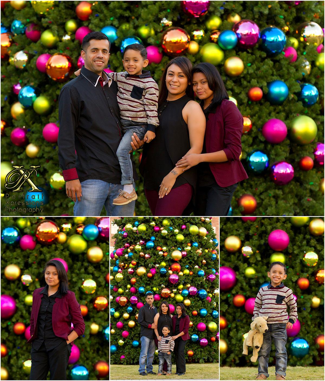 Christmas family portraits in El Paso