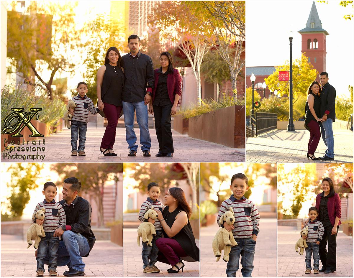 fall family portraits in El Paso