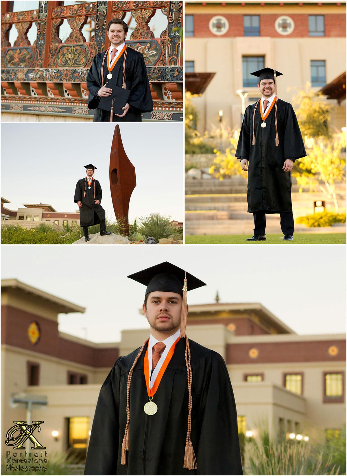 UTEP graduation photography session