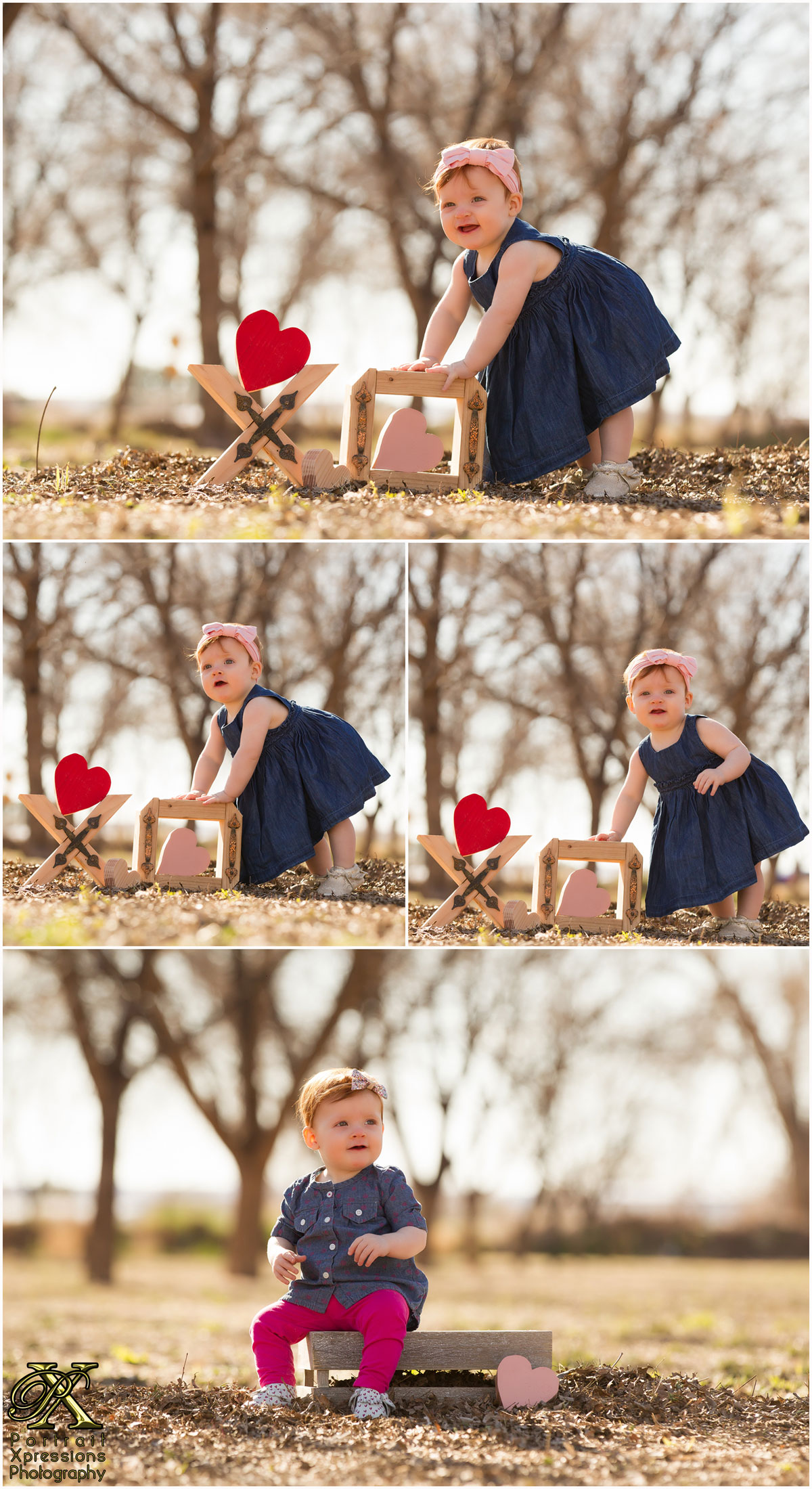 nine month baby photography session