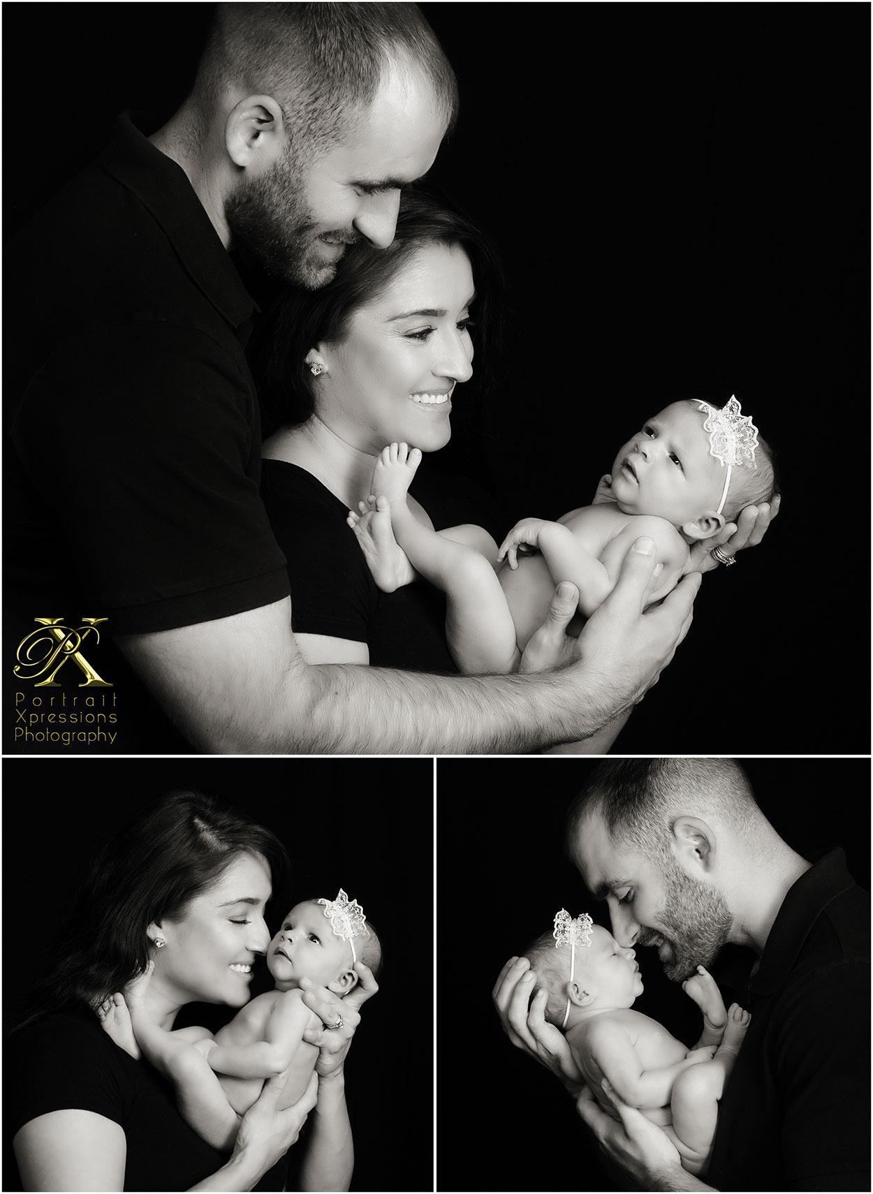 newborn baby relationship portraits