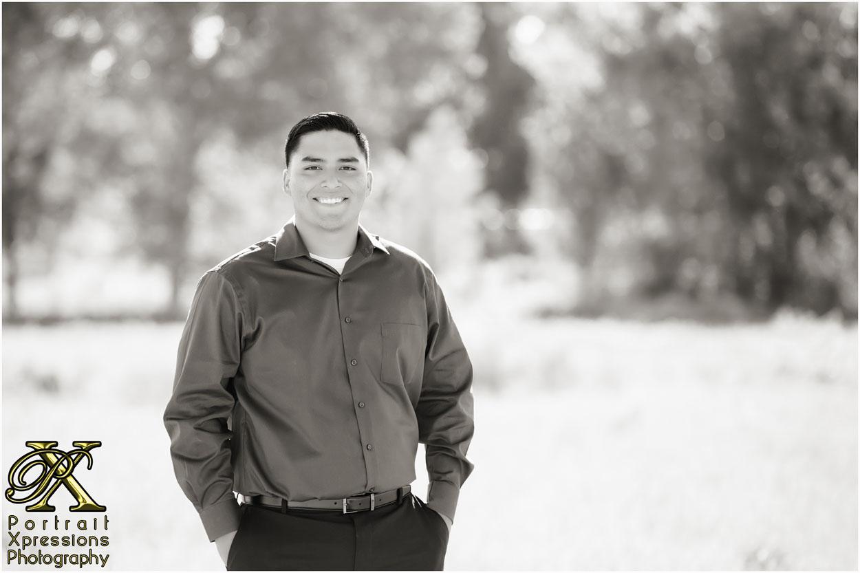 AJ's high school senior portraits
